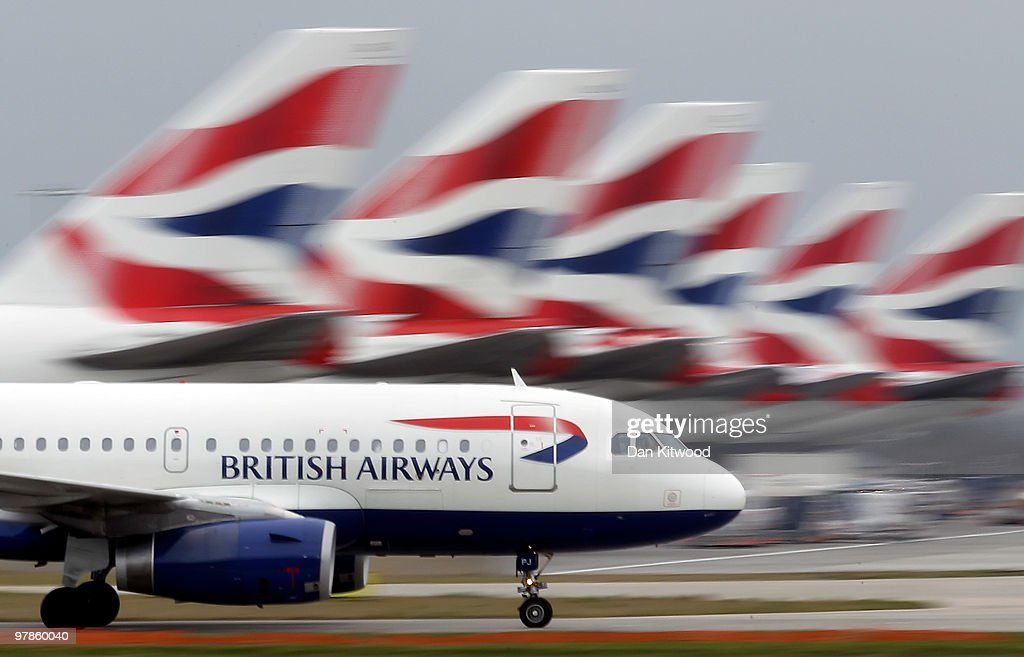 A British Airways plane lands at Heathrow Airport on March 19, 2010 in London, England. The planned three day strike by BA cabin crew this weekend will now go ahead as talks between the airline and the union Unite collapsed earlier today.