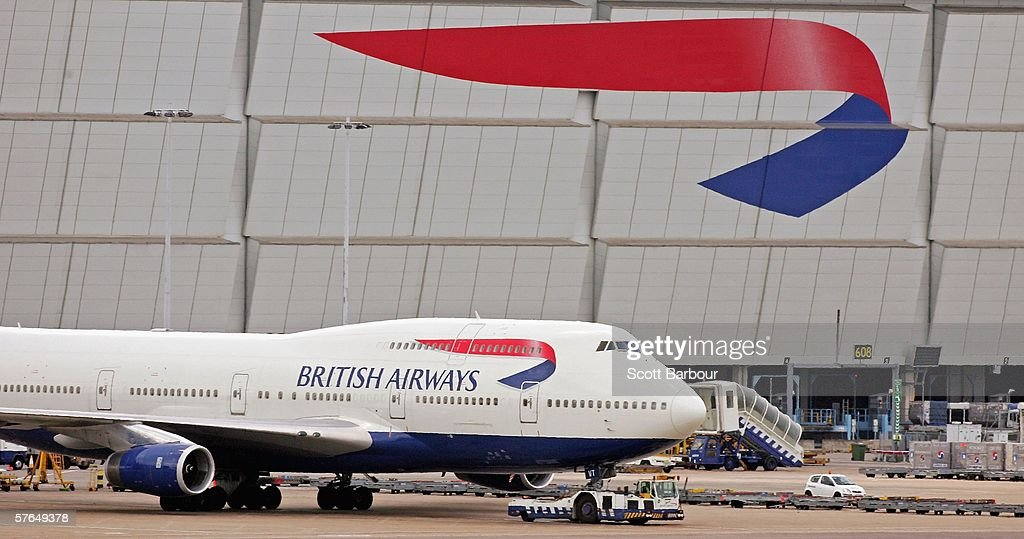 British Airways plane sits at Heathrow Airport on May 18 2006 in London England British Airways will announce their Q4 and year end results tomorrow