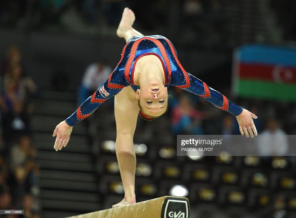 Amy Tinkler beam