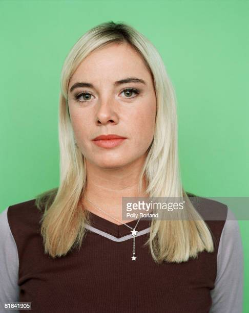 British and actress Tamzin Outhwaite star of longrunning television soap opera 'Eastenders' circa 2000