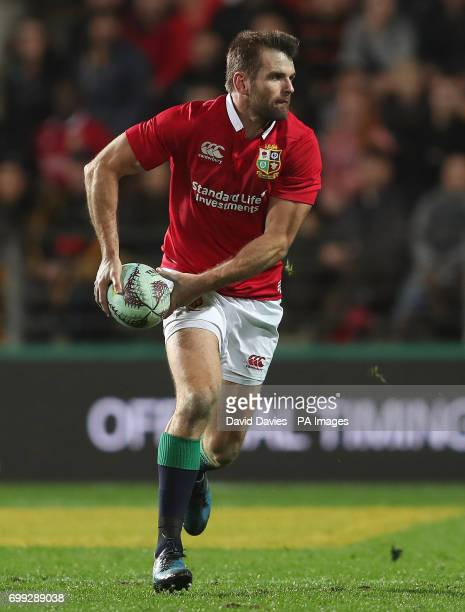 British and Irish Lions Jayrd Payne during the tour match at the FMG Stadium Hamilton