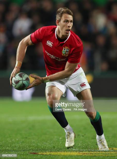 British and Irish Lions Liam Williams during the tour match at the FMG Stadium Hamilton