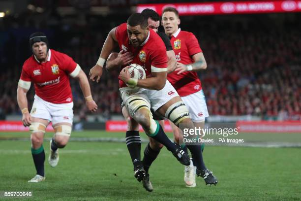 British and Irish Lions Taulupe Faletau during the first test of the 2017 British and Irish Lions tour at Eden Park Auckland