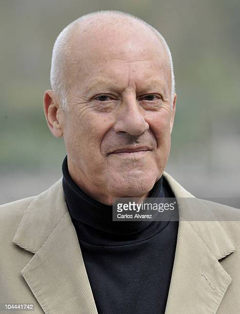 British architect Norman Foster attends 'How Much Does Your Building Weigh Mr Foster' photocall during the 58th San Sebastian International Film...