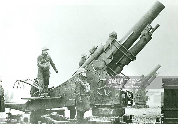 British artillery position in Northern France in 1940