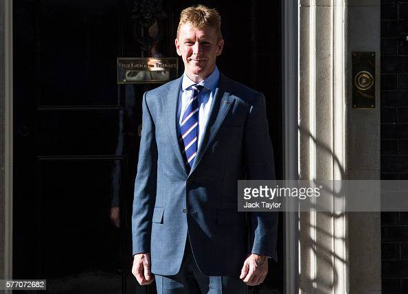 British astronaut Tim Peake pictured before a reception at Number 10 Downing Street on July 18 2016 in London England Mr Peake returned to earth on...