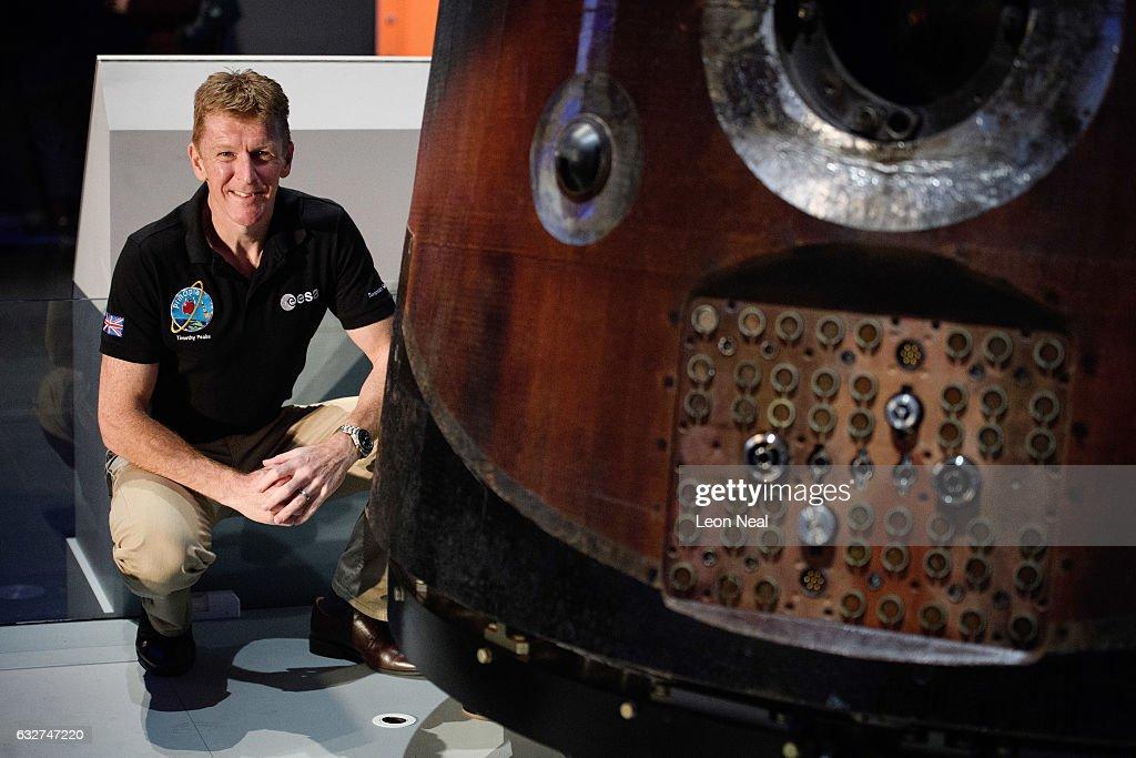 Tim Peake's Spaceship Is Installed At The Science Museum