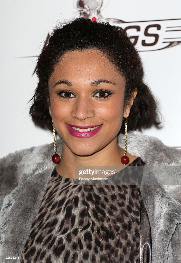 British athlete Jodie Williams attends a dinner and ball hosted by The Cord Club in aid of Wings For Life at One Marylebone on February 28, 2013 in London, England.