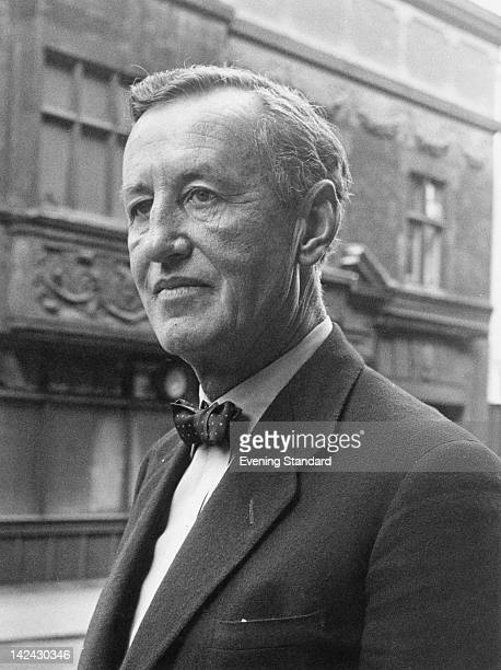 British author Ian Fleming creator of the James Bond series of spy novels 24th March 1961
