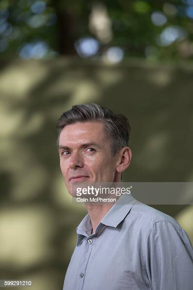 British author Matt Whyman pictured at the Edinburgh International Book Festival where he talked about his new book entitled 'American Savage' The...