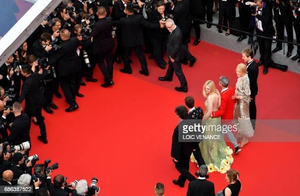 British author Neil Gaiman British actor Alex Sharp US actress Elle Fanning US director John Cameron Mitchell Australian actress Nicole Kidman and...