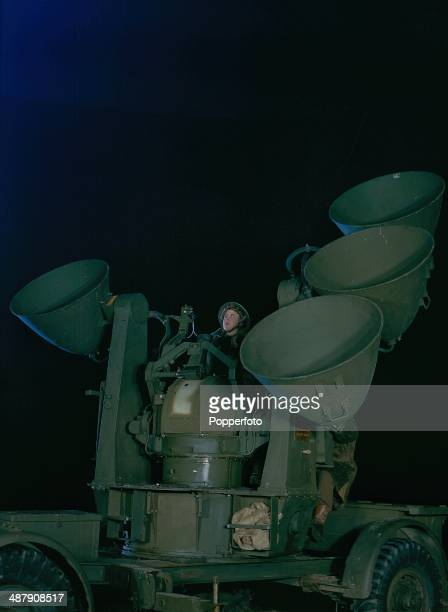 1943 British Auxiliary Territorial Service searchlights of AntiAircraft Command on the Home Front during World War Two January 1943
