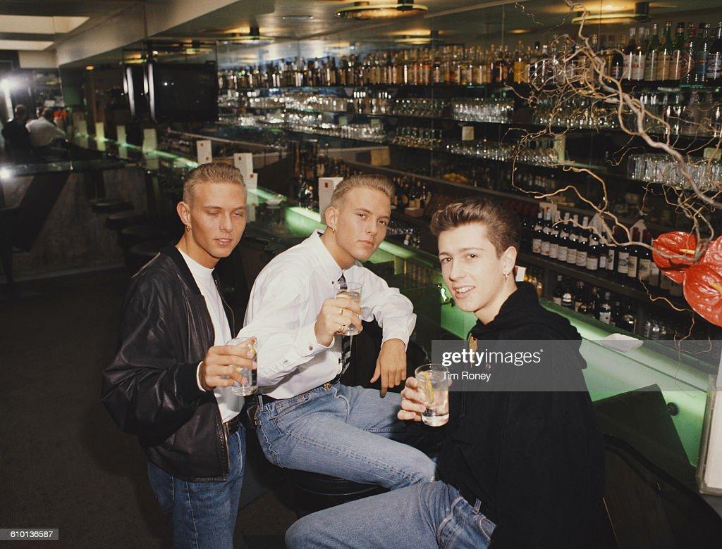 British band Bros circa 1990 From left to right Luke Goss Matt Goss and Craig Logan