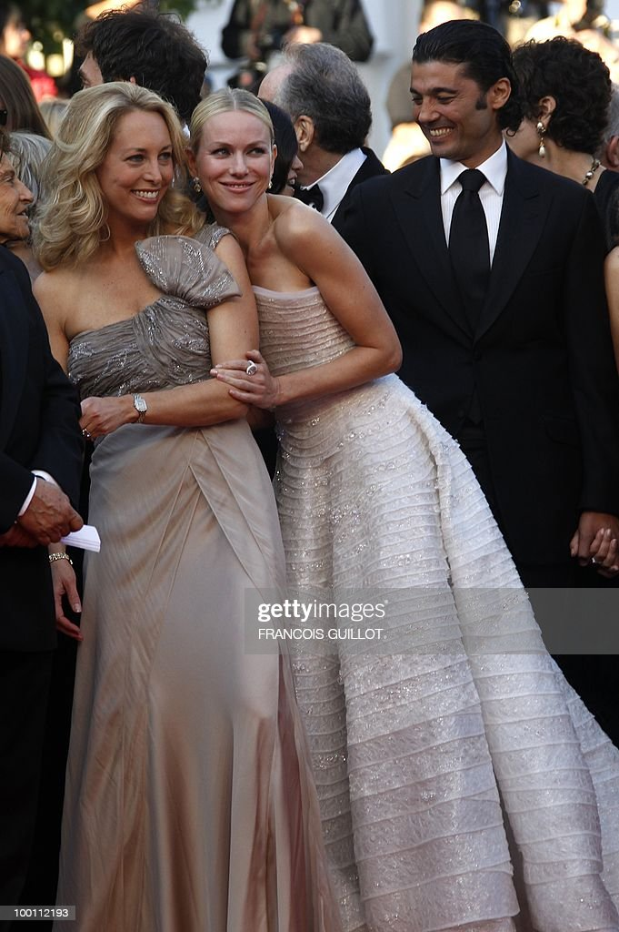British born Australian actress Naomi Watts (R) and former US C.I.A officer Valerie Plame Wilson arrive for the screening of 'Fair Game' presented in competition at the 63rd Cannes Film Festival on May 20, 2010 in Cannes.