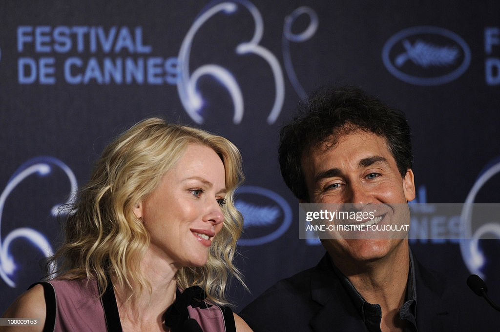 British born Australian actress Naomi Watts (L) and US director Doug Liman attend the press conference of 'Fair Game' presented in competition at the 63rd Cannes Film Festival on May 20, 2010 in Cannes.