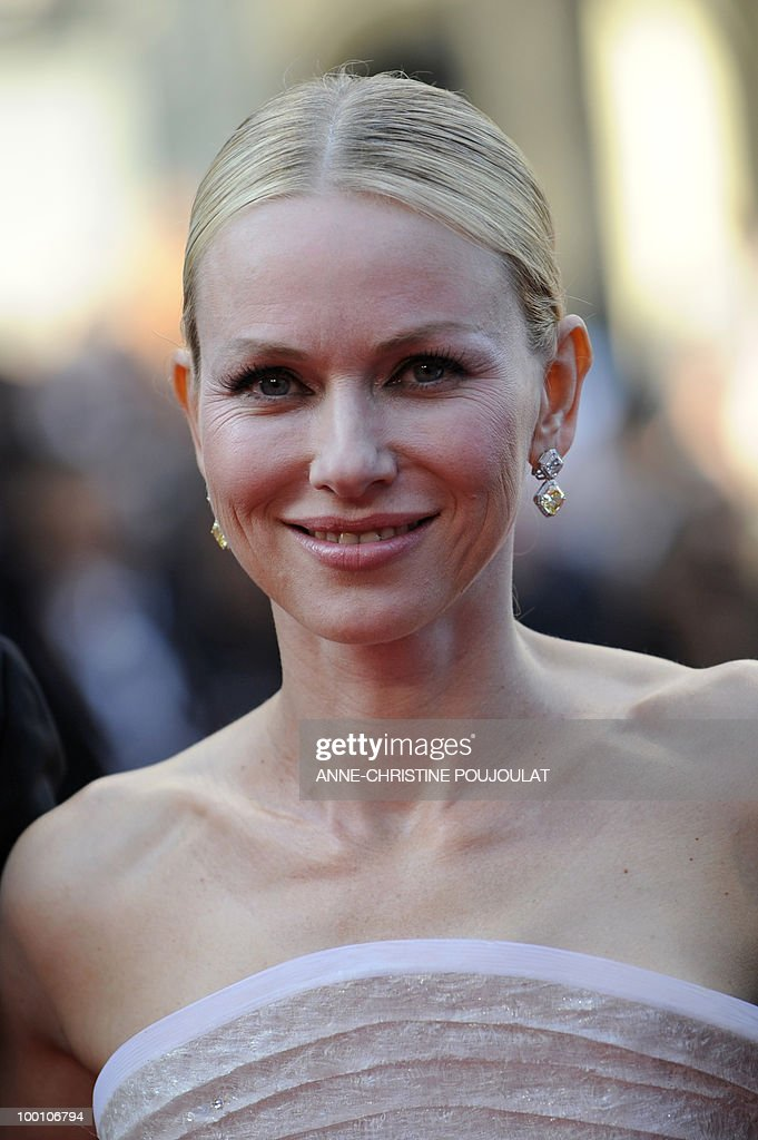 British born Australian actress Naomi Watts arrives for the screening of 'Fair Game' presented in competition at the 63rd Cannes Film Festival on May 20, 2010 in Cannes.