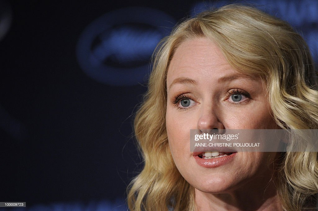 British born Australian actress Naomi Watts attends the press conference of 'Fair Game' presented in competition at the 63rd Cannes Film Festival on May 20, 2010 in Cannes.