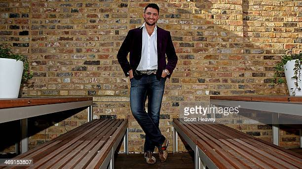 British boxer Hughie Fury attends a press conference on February 13 2014 in London England