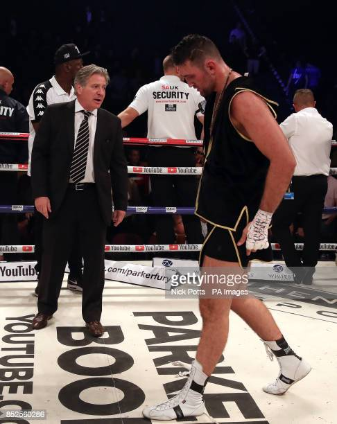 British Boxing Board of Control's Robert Smith after Joseph Parker beat Hughie Fury on points in the WBO World Heavyweight Title bout at Manchester...