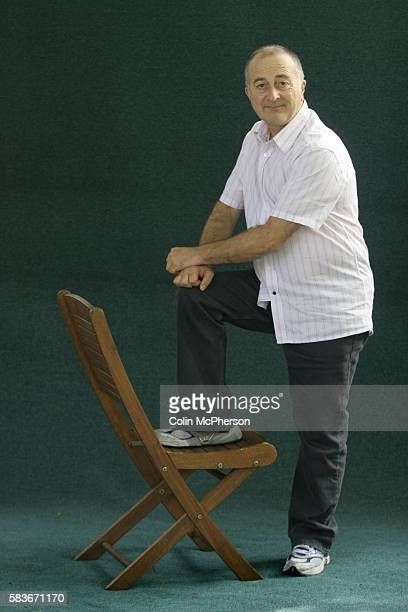 British broadcaster actor and writer Tony Robinson pictured at the Edinburgh International Book Festival where he appeared at a Children's Book...