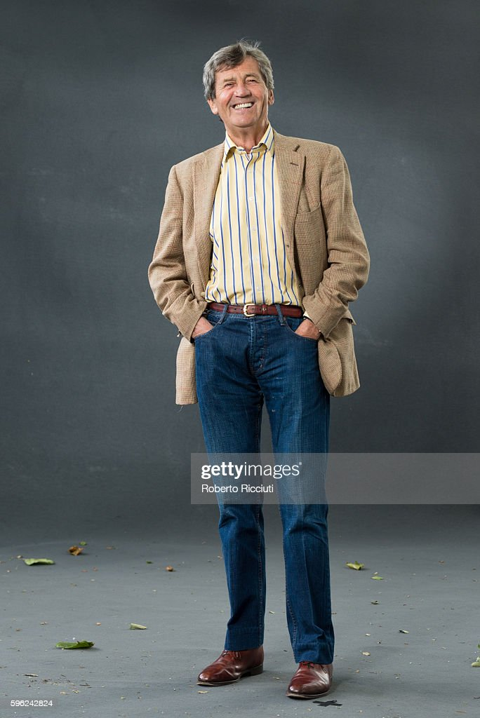 British broadcaster, author and parliamentarian Melvyn Bragg attends a photocall at Edinburgh International Book Festival at Charlotte Square Gardens on August 27, 2016 in Edinburgh, Scotland.