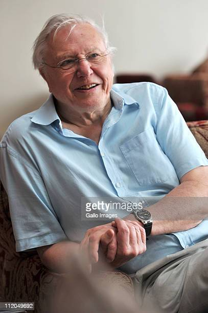 British broadcaster Sir David Attenborough during an interview in Port Elizabeth South Africa on 11 April 2011 David Attenborough is to be given an...