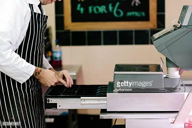 British Butcher's cash register