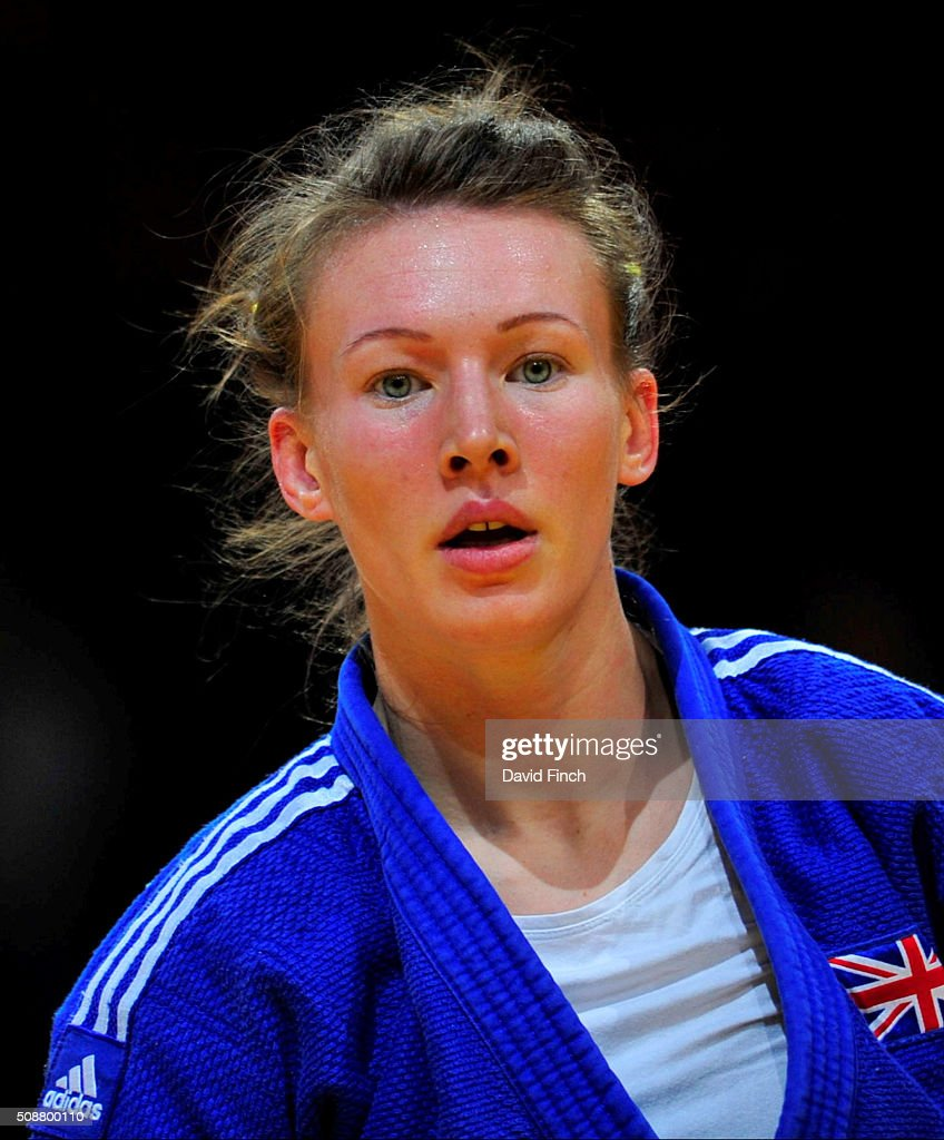 British champion Kelly Edwards was eliminated during the early u52kg rounds at the 2016 Paris Judo Grand Slam February 6 2016 at the AccorHotels...