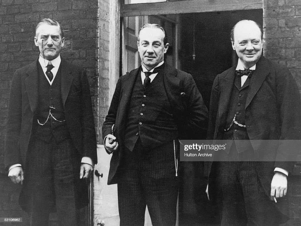 Churchill as Finance Minister (Chancellor of the Exchequer)