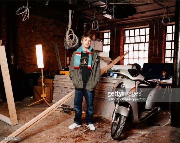 British chef Jamie Oliver circa 1998