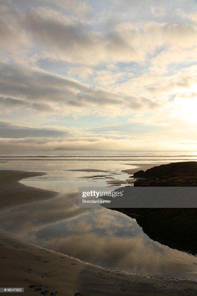 British Columbia Sunset : Stock-Foto