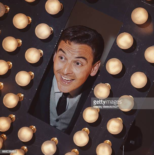 British comedian actor and game show host Bob Monkhouse circa 1965