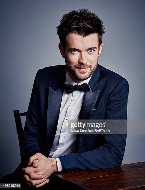 British comedian and actor Jack Whitehall poses for a portrait at the 2015 BAFTA Britannia Awards Portraits on October 30 2015 at the Beverly Hilton...