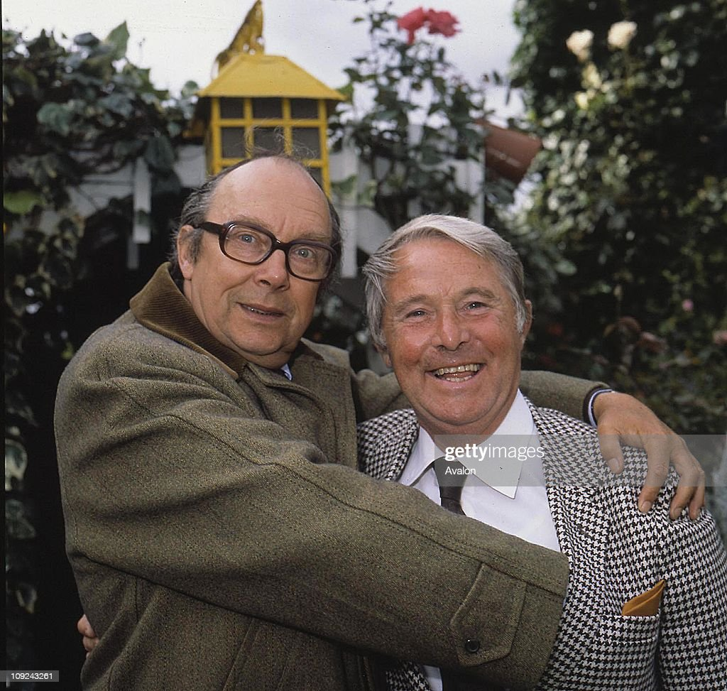 British Comedy Duo Morecambe And Wise Left ERIC MORECAMBE and Right ERNIE WISE