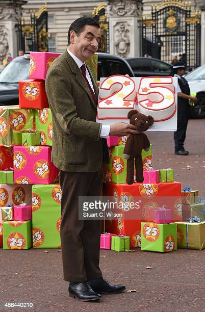 British comedy icon Mr Bean heads to Buckingham Palace to celebrate 25 years the release of Mr Bean 25th Anniversary DVD Boxset and new animated...
