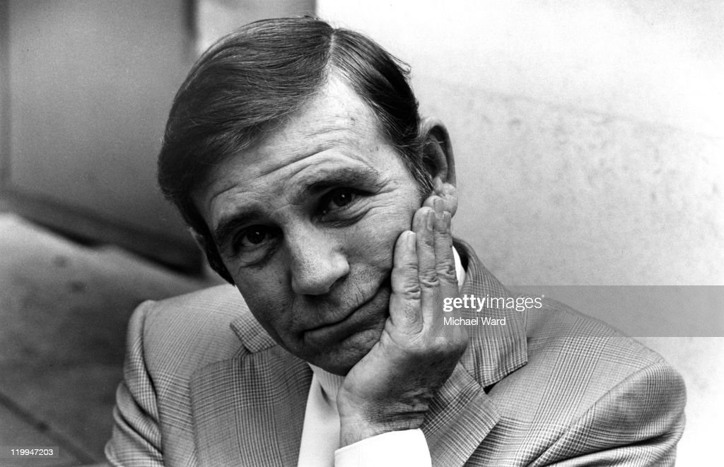 British comic actor Norman Wisdom, 1975.