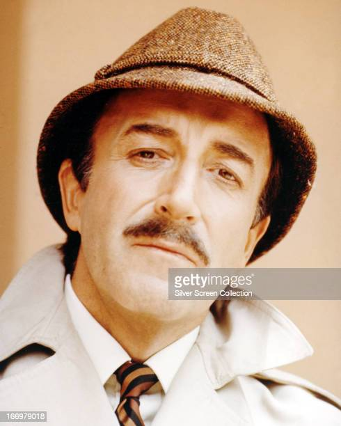 British comic actor Peter Sellers as he appears in the role of Inspector Jacques Clouseau in 'The Return Of The Pink Panther' directed by Blake...