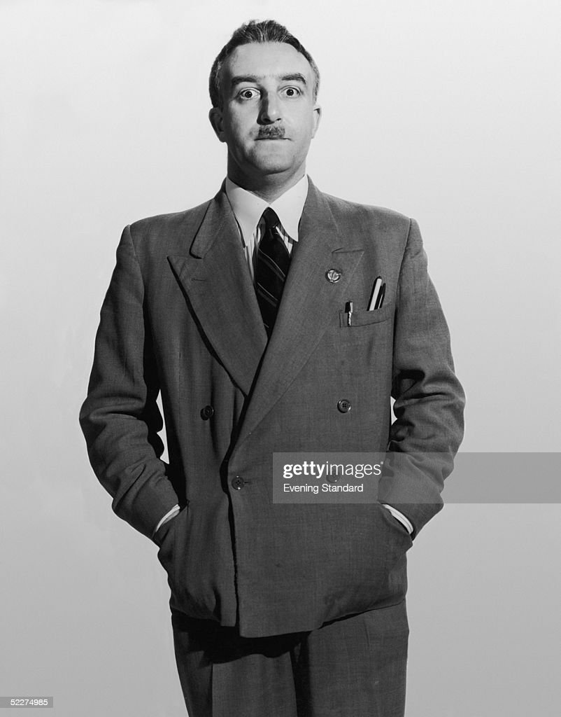 British comic actor Peter Sellers (1925 - 1980) as shop steward Fred Kite in the Boulting Brothers' comedy 'I'm All Right Jack', 1960.