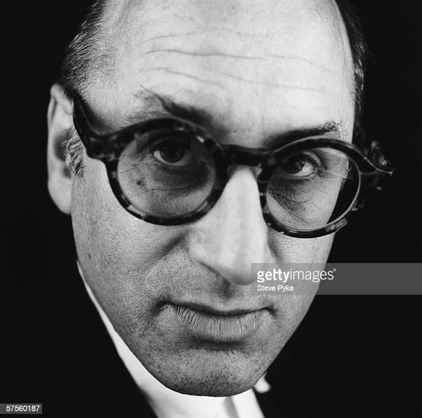 British composer Michael Nyman in London 1991