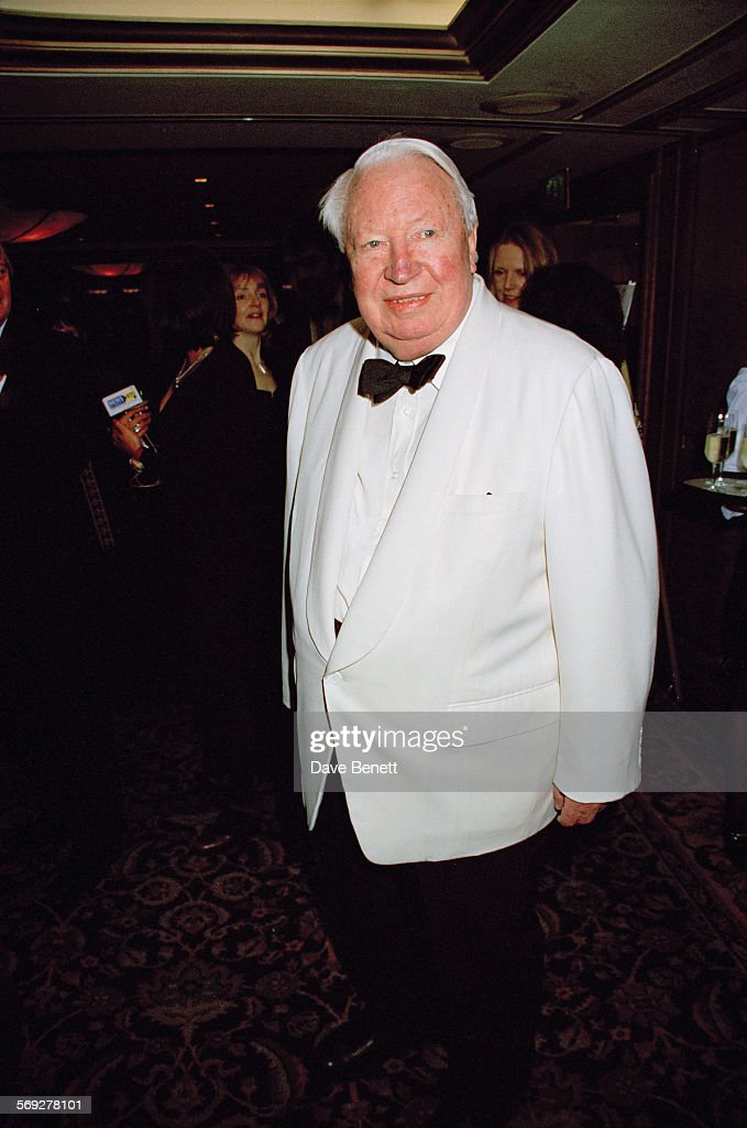 British Conservative politician and former Prime Minister Edward Heath attending the British Book Awards at the London Hilton February 1999