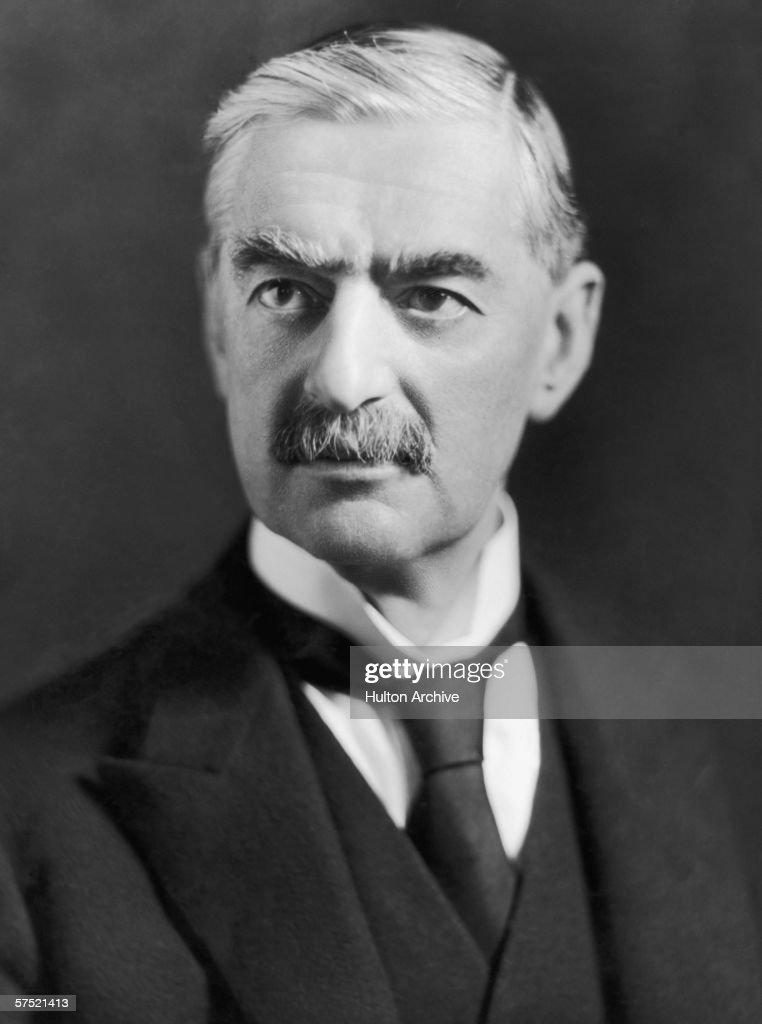 British conservative politician and Prime Minister Neville Chamberlain (1869 - 1940), circa 1940.