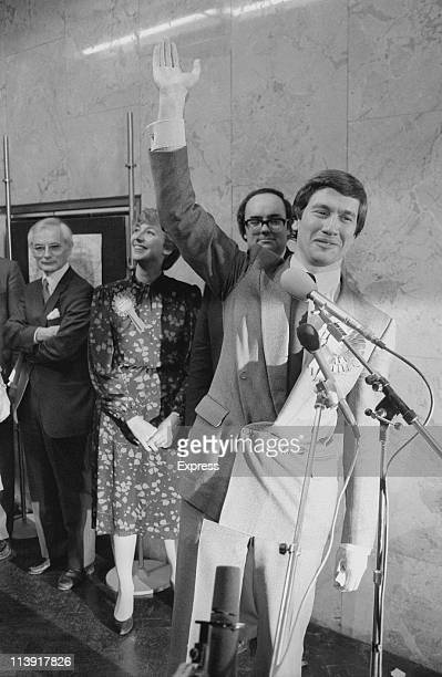British Conservative politician Michael Portillo is elected Member of Parliament for Enfield Southgate London 13th December 1984