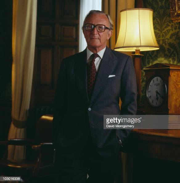 British Conservative politician Peter Carington 6th Baron Carrington the Secretary of State for Foreign and Commonwealth Affairs 27th April 1980
