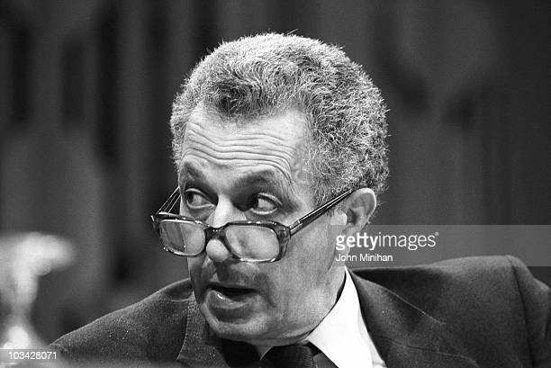 British Conservative politician Sir Keith Joseph on May 22 1983