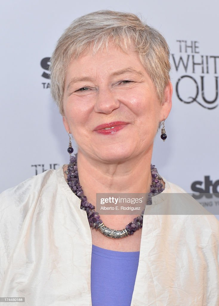 British Consul-General in Los Angeles Barbara Hay attends The Brittish Consulate'a toast of the U.S. launch of the Starz original series 'The White Queen' on July 25, 2013 in Los Angeles, California.