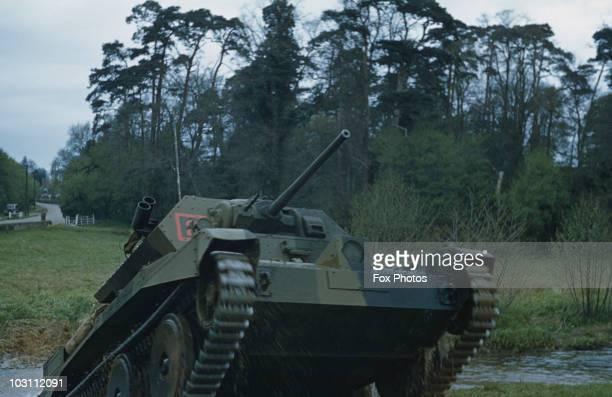 A British Covenantor cruiser tank circa 1940