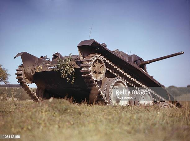 A British Covenantor cruiser tank on a training exercise 1942