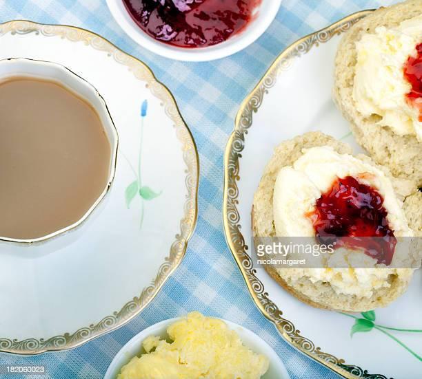 British thé à la crème