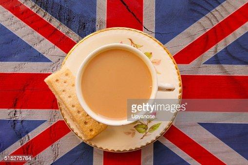 British Cuppa : Stock Photo