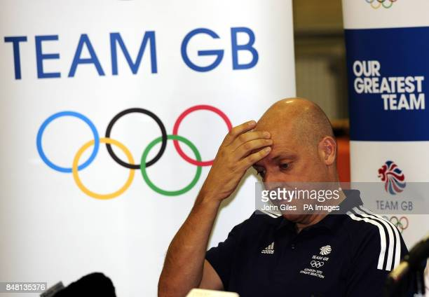 British Cycling Performance Director Dave Brailsford during the Team GB Announcement at the National Cycling Centre Manchester